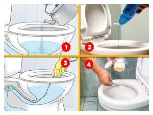 tıkanmış tuvaleti açma