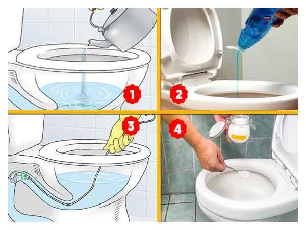 Evde Tıkanmış Tuvalet Açma Yöntemleri Nelerdir ?